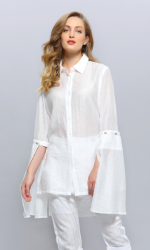 Shirt Long Tulip Sleeves